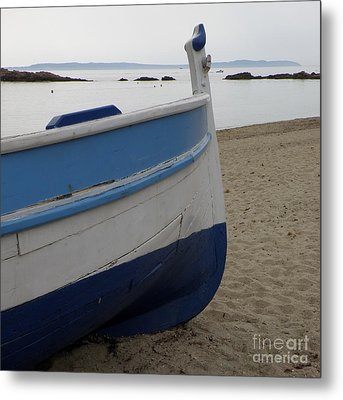 Morning Seascape Metal Print by Lainie Wrightson