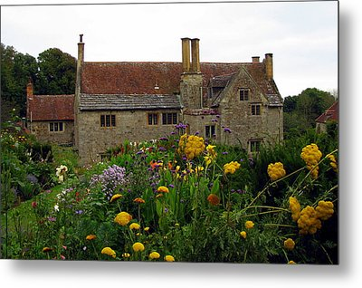 Mottiston Manor Metal Print by Carla Parris