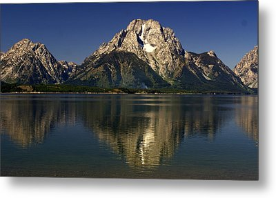 Metal Print featuring the photograph Moujnt Moran 5 by Marty Koch