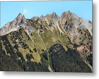 Mount Baker National Forest Metal Print