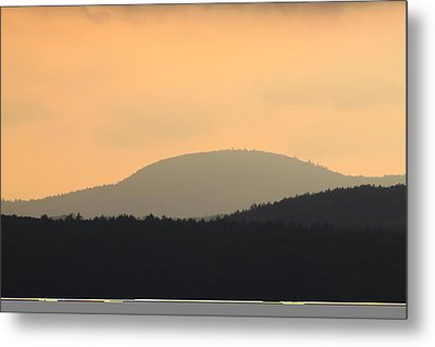 Mount Grace Warwick Ma Metal Print by John Burk