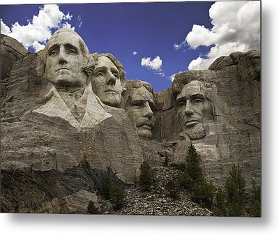 Mount Rushmore  Metal Print by Paul Plaine