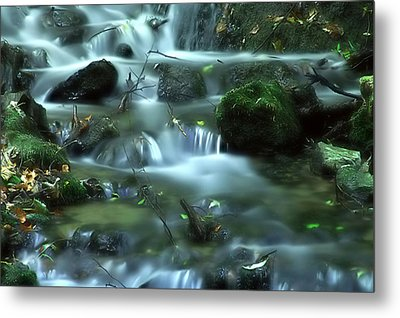 Mountain River Metal Print by Odon Czintos