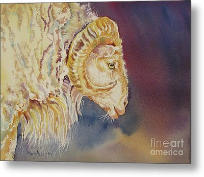 Mr. Ram Metal Print