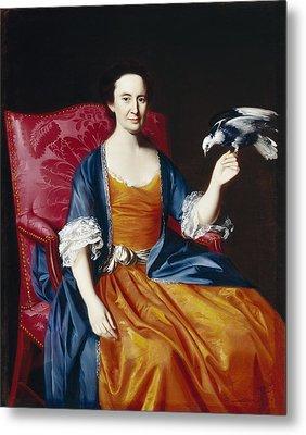 Mrs. Benjamin Hallowell Metal Print by John Singleton Copley
