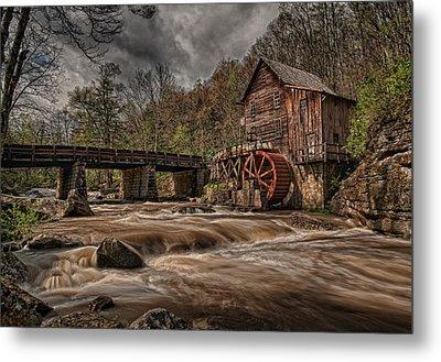 Muddy Water Metal Print by Wade Aiken