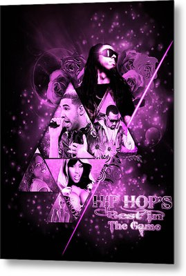 Music Metal Print by Andre Samuels