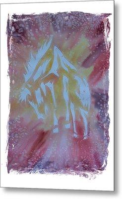 Mustang Dance Metal Print by Mark Schutter