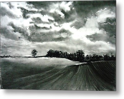 My Farm Land Metal Print