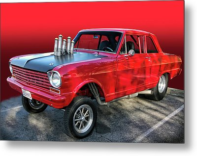 Metal Print featuring the photograph Nasty by Bill Dutting