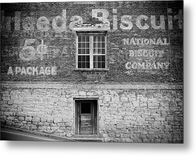 National Biscuit Company Metal Print by Paul Bartoszek