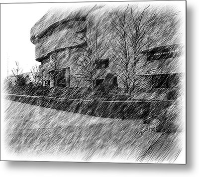 National Museum Of The American Indian Metal Print by Yiries Saad