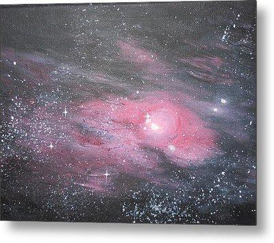 Nebula 1 Metal Print by Siobhan Lawson