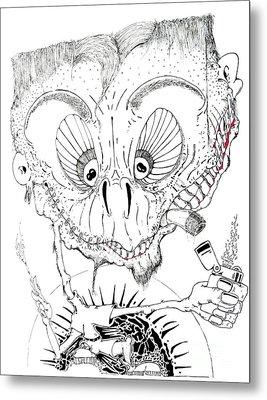 Need A Light Metal Print by Jack Norton