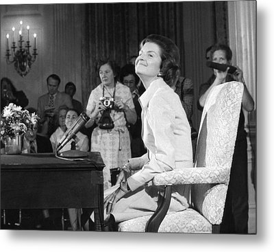 New First Lady, Betty Ford Metal Print