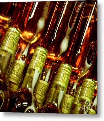 Metal Print featuring the photograph New Wine by Lainie Wrightson
