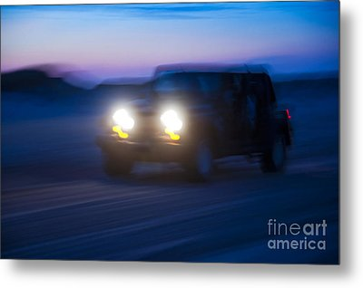 Night Rider Metal Print by John Greim