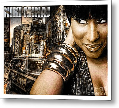 Niki Metal Print by The DigArtisT