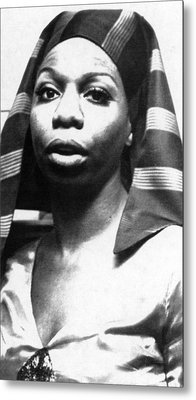 Nina Simone, 1978 Metal Print by Everett