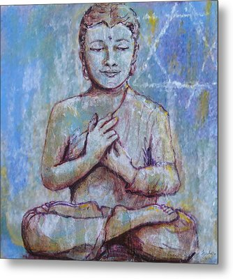 Metal Print featuring the painting Nirvana by Susan Fisher