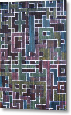 Ode To Trapped Boundary Metal Print by Pam Tapp