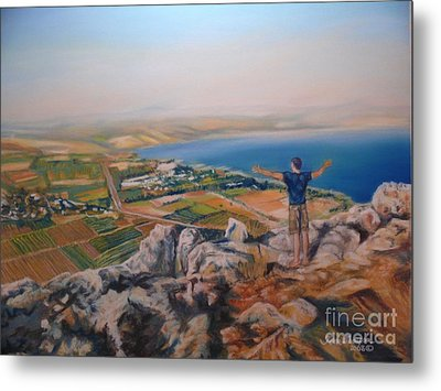Oh Isreal Metal Print by Terri Thompson