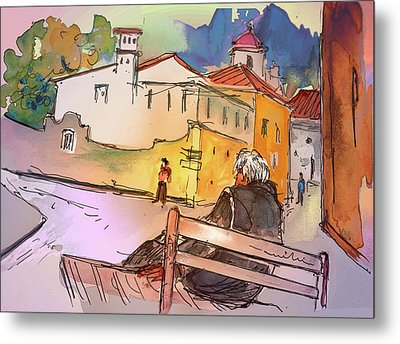 Old And Lonely In Portugal 07 Metal Print by Miki De Goodaboom