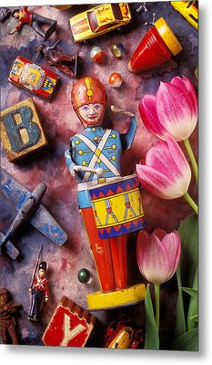 Old Childrens Toys Metal Print