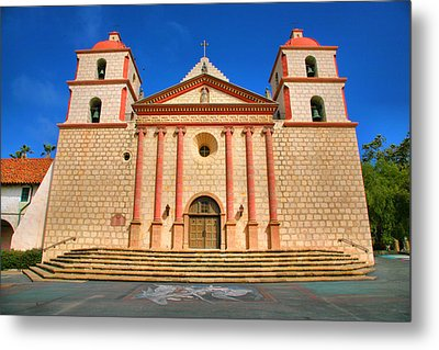 Old Mission Metal Print by Steven Ainsworth