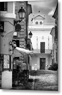 Metal Print featuring the photograph Old Town by Pedro Cardona