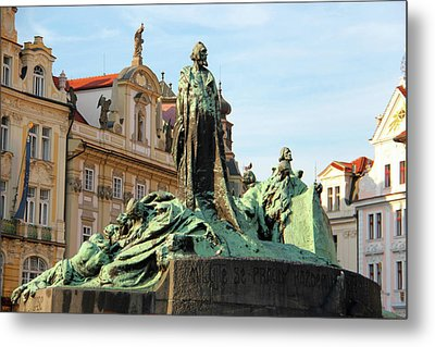 Old Town Square Metal Print by Mariola Bitner