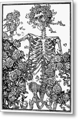 Omar Khayam: Rubaiyat Metal Print by Granger