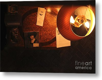 Metal Print featuring the photograph On The Desk by Sherry Davis