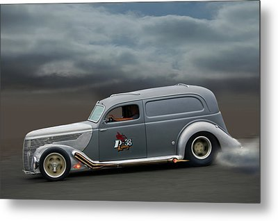 On The Flats Metal Print by Bill Dutting