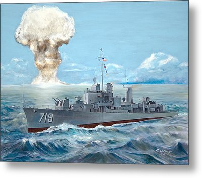 Operation Castle Metal Print by Karen Wilson