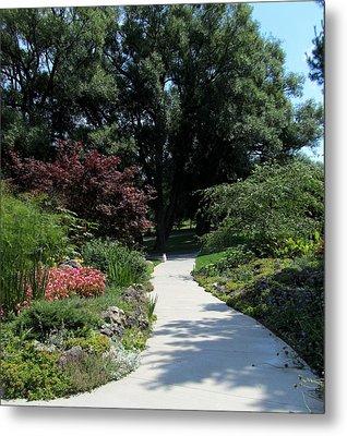 Oshawa Botanical Garden 4 Metal Print by Sharon Steinhaus