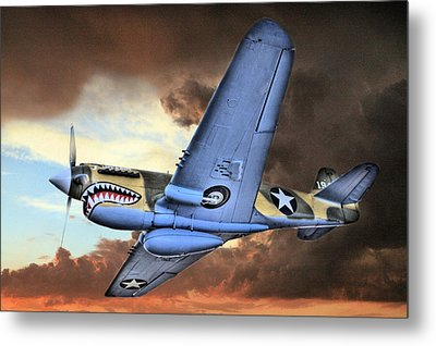 Out Of The Storm Metal Print by JC Findley