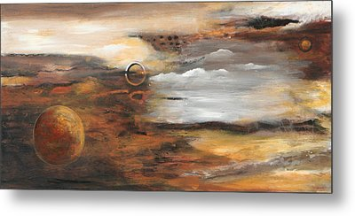 Outer Moons Metal Print