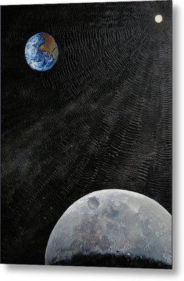 Outer Space Metal Print by Alan Schwartz