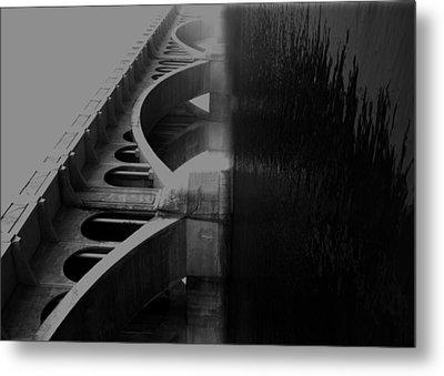 Over The Bridge Metal Print by Jerry Cordeiro