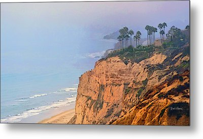 Overlooking Black's Beach La Jolla Metal Print