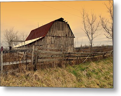 Metal Print featuring the photograph Ozark Barn 1 by Marty Koch