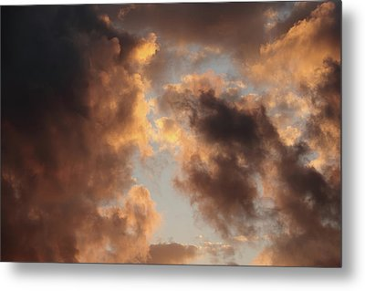 Painter Clouds Metal Print by Nick  Shirghio