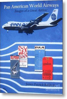 Pan American World Airways Metal Print by Lesley Giles