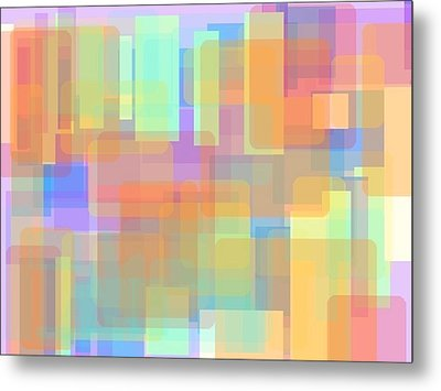 Panes Of Existence Metal Print