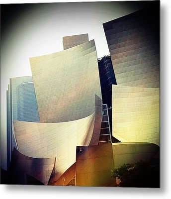 Paper Shapes Metal Print by Kevin Bergen