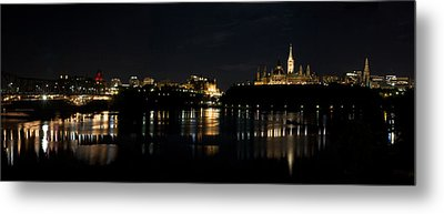 Metal Print featuring the photograph Parliament Hill Ottawa Canada by JM Photography