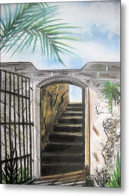 Passage Metal Print by Judy Via-Wolff