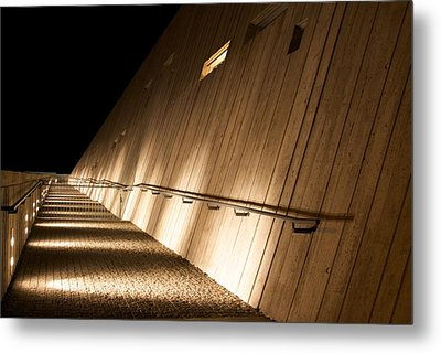 Pathway Of Lights Metal Print