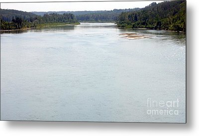 Metal Print featuring the photograph Peaceful Waters by Jim Sauchyn